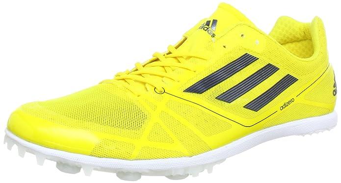 adidas Adizero Cadence 2, Chaussures de running adulte mixte - Jaune - Gelb (Vivid Yellow S13/Black 1/Black 1), 36 2/3 EU