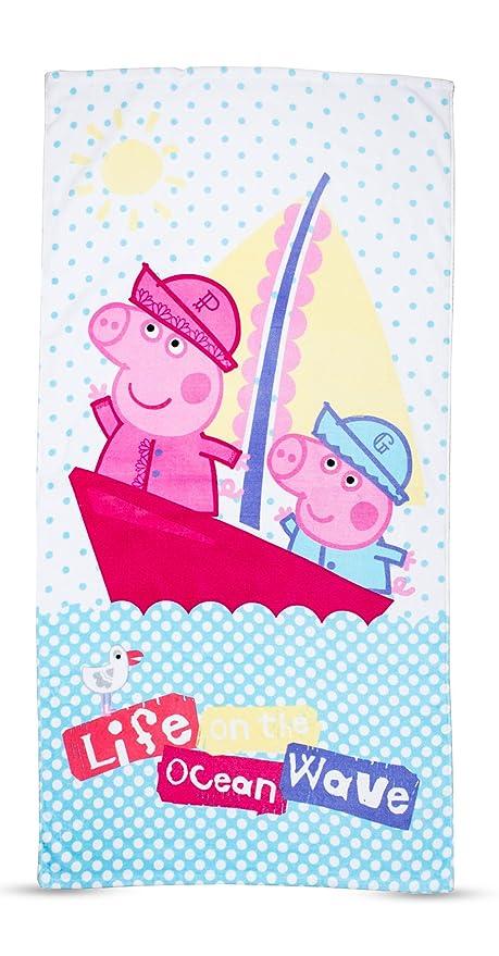 "Peppa Pig ""náutico toalla"