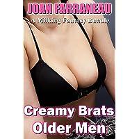 Creamy Brats, Older Men: A Milking Fantasy Bundle
