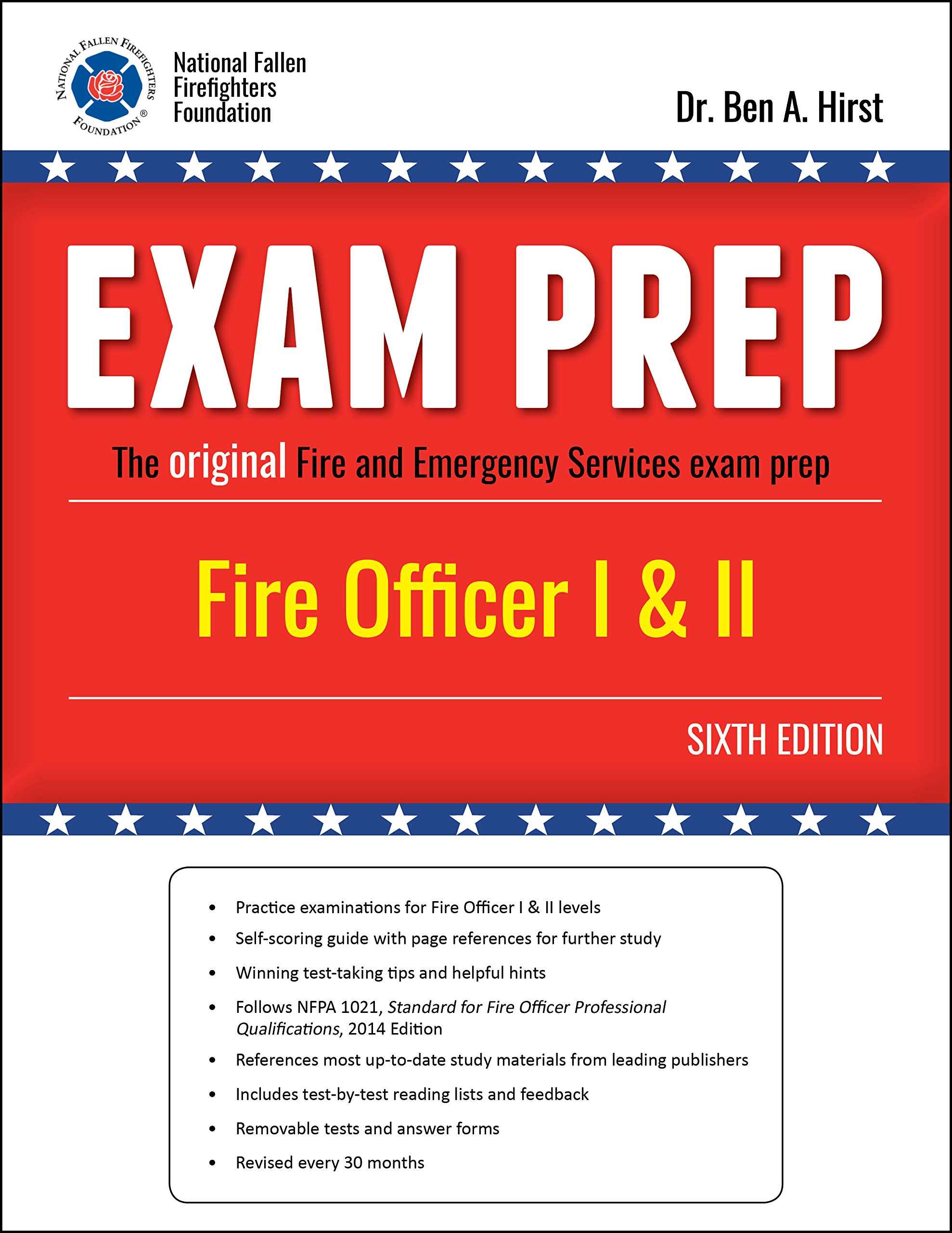 exam prep fire officer i ii 6th edition dr ben hirst