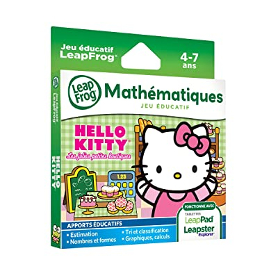 LeapFrog 83035 - Jeu Educatif Electronique - LeapPad / LeapPad 2 /Leapster Explorer Jeu – Hello Kitty