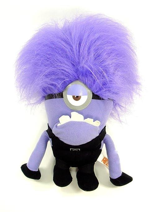 Despicable Me Evil ONE Eyed Purple Minion 10quot Plush Doll