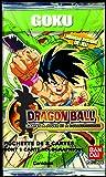 Bandai - Dragon Ball Cartes - 5043 - Cartes à Collectionner - Booster Super Série 1 Goku Display - 8 Cartes