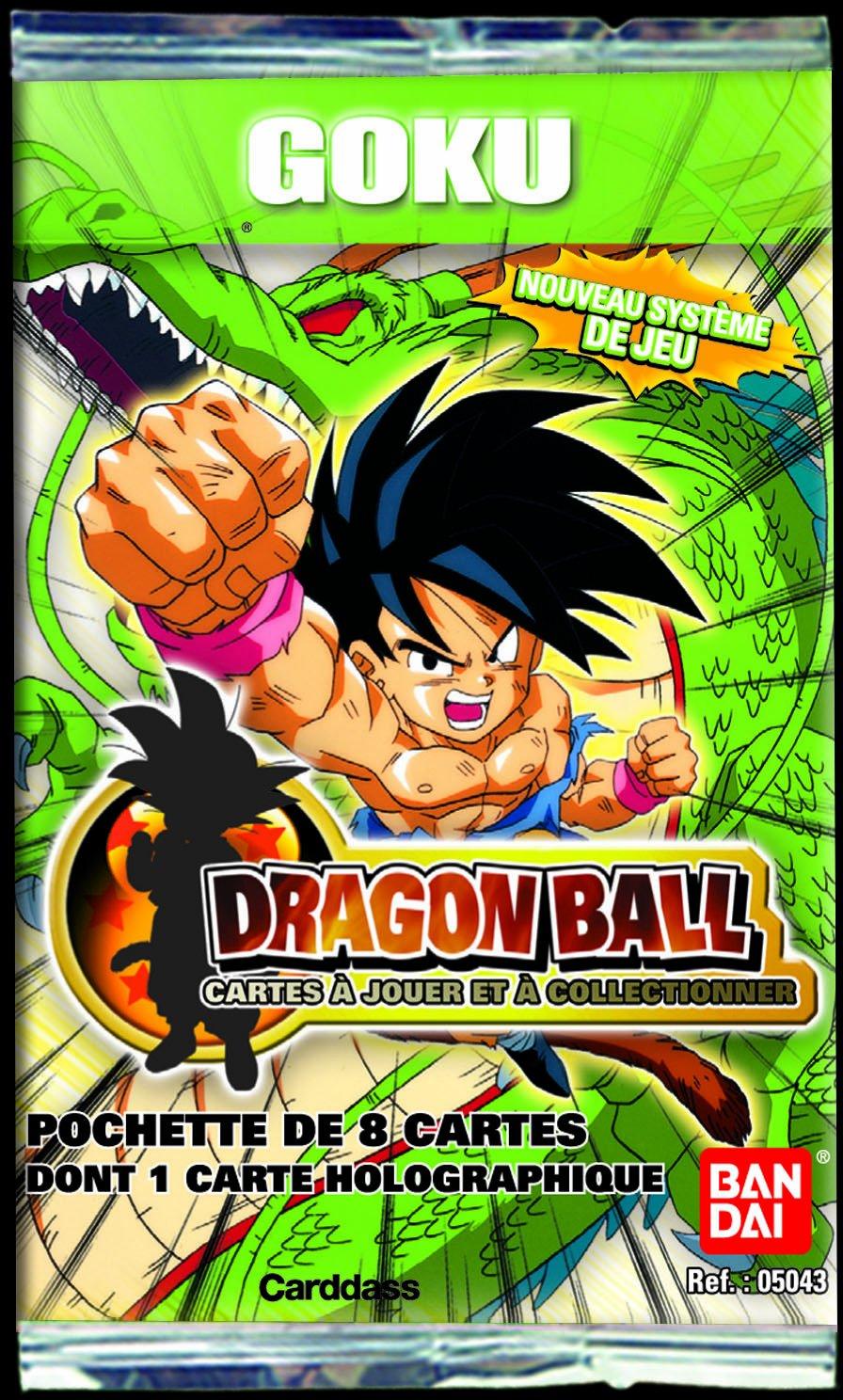 Dragon Bandai Ball Cartes 5043 Goku - Paquete de 8 cromos ...