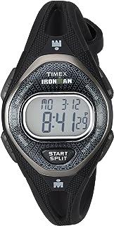 acf94b1a2ec Amazon.com  Timex Women s T5K039 Ironman Sleek 50 Mid-Size Black ...
