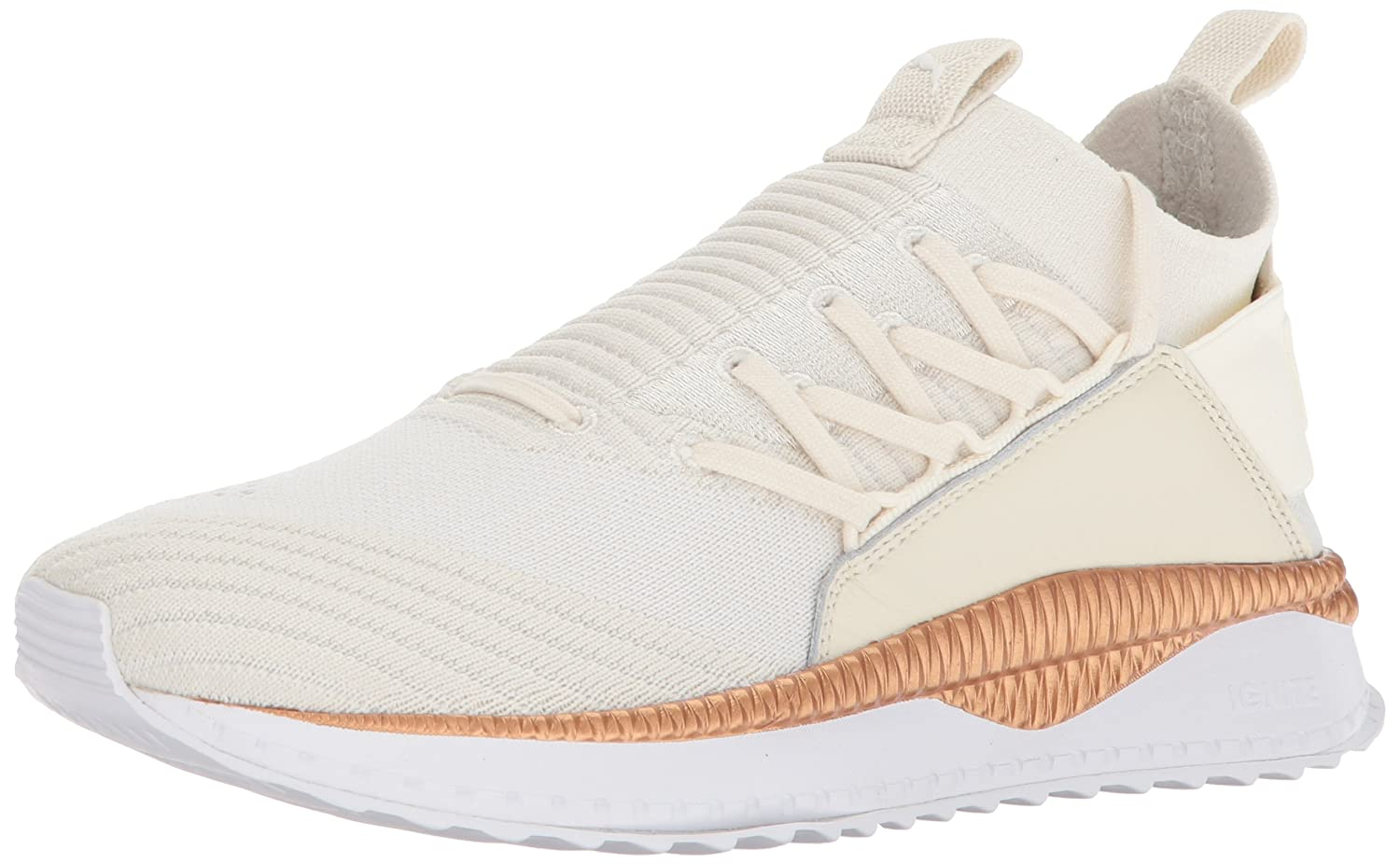 PUMA Women's Tsugi Jun WN's Sneaker B073WHKQDC 10 B(M) US|Whisper White-puma White-rose Gold
