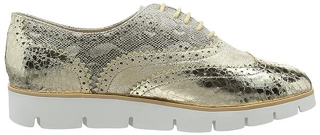Or / Dentelle Naturelle Jusqu'à Chaussures, Femmes Chaussures De Sport Bas-top La Strada