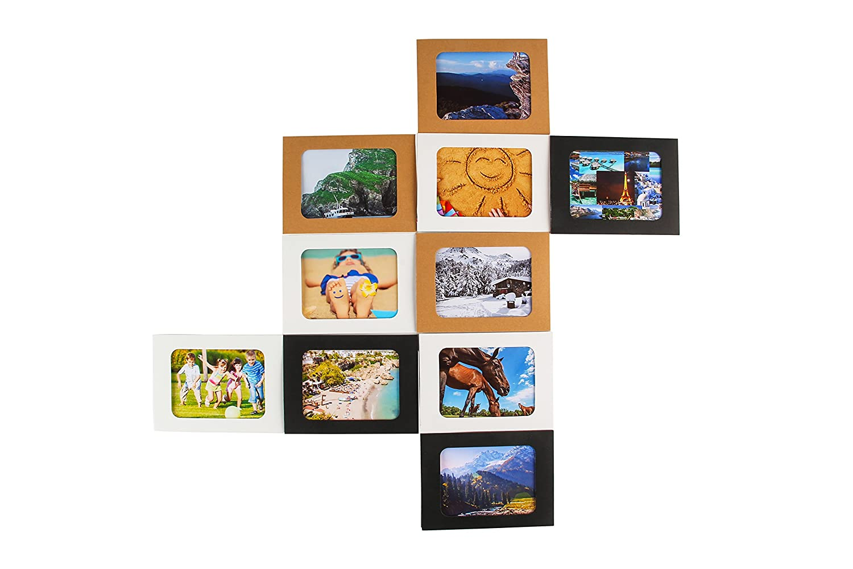 Stairway Bedroom Ponerine Decorative Design Paper Collage Photo Picture Frames Living Room Home Cr/ÈChe Classroom Corridor Kindergarten Simple Sturdy DIY Crafts