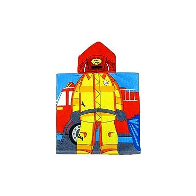 Kreative Kids Unisex Fireman Cap Bath Towel One Size: Clothing [5Bkhe1202943]