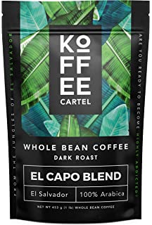 Amazon.com : Coffee Whole Beans Medium Roast 1 lb - Gourmet ...