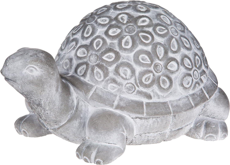 Home Essentials Cement Turtle Figurine One Size Grey