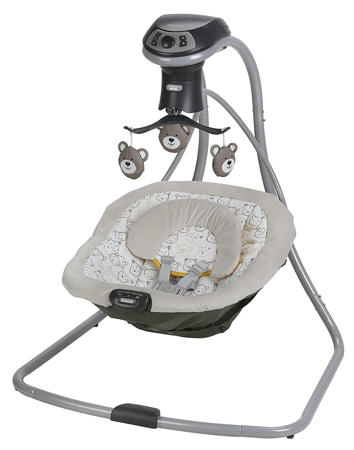 Graco Simple Sway LX Baby Swing, Teddy