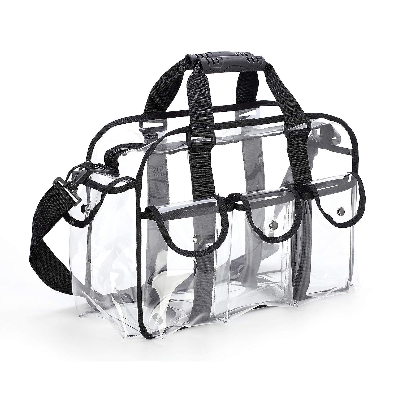 Wyenliz Clear Travel Makeup Bag Shoulder Strap Adjustable