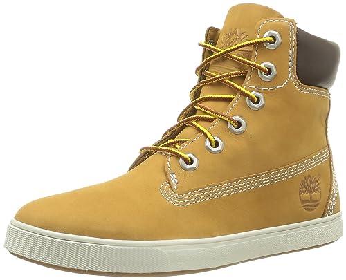 Timberland EK Deering - Zapatillas de Deporte de Cuero Nobuck Mujer: Amazon.es: Zapatos y complementos