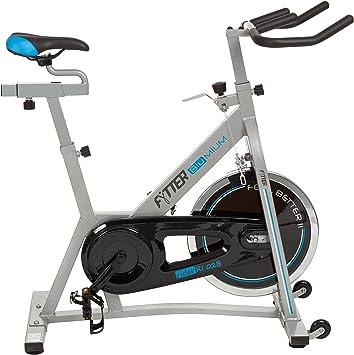 FYTTER Bicicleta Indoor Rider RI-02B Gris: Amazon.es: Deportes y ...