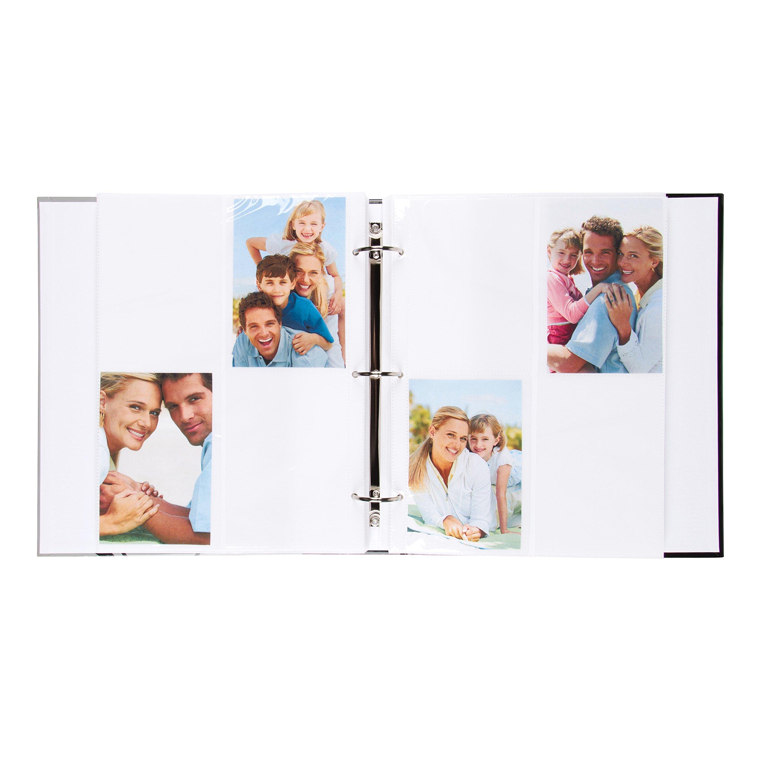 DesignOvation Live Laugh Love Expression Photo Album, Holds 440 4x6 Photos, Set of 4 by DesignOvation (Image #4)