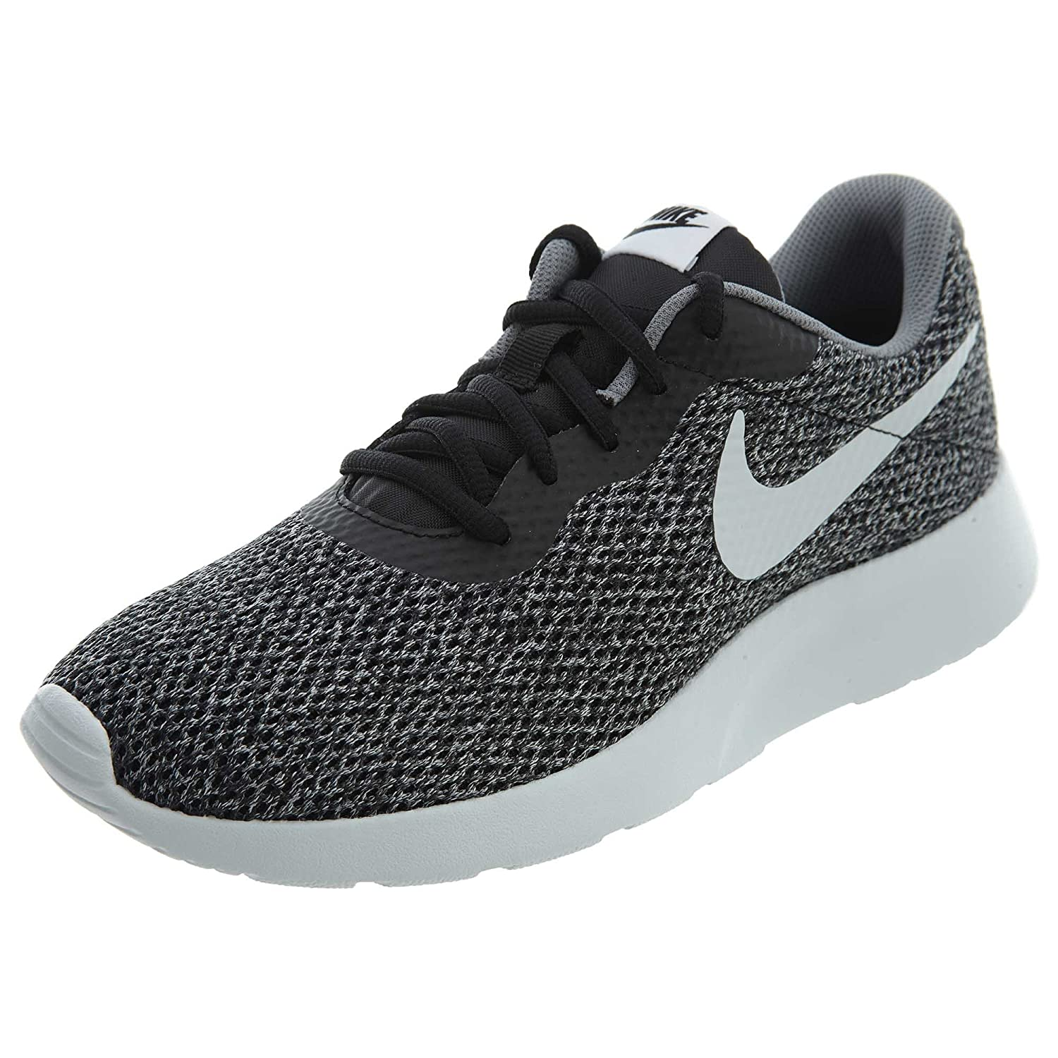 NIKE Men's Tanjun Sneakers, Breathable Textile Uppers and Comfortable Lightweight Cushioning B078MVBXK1 9.5 D(M) US|Black/Pure Platinum/Cool Grey