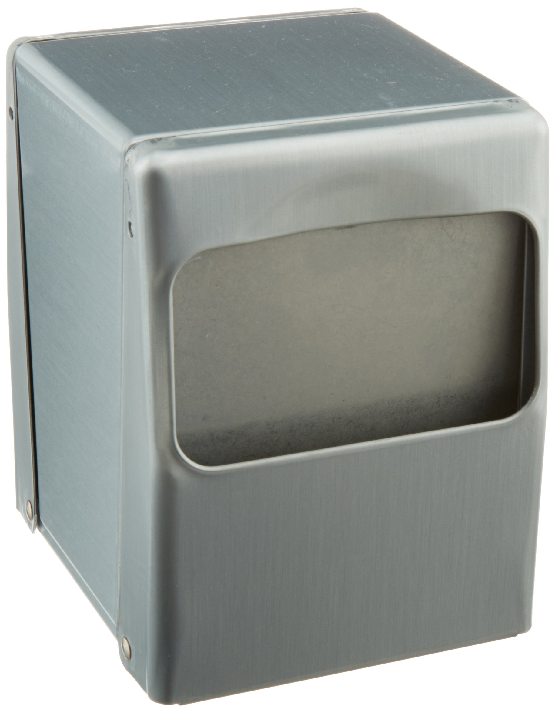 Impact 1045 Steel Lowfold Table Top Napkin Dispenser, 4-3/4'' Length x 4'' Width x 5-1/2'' Height, Brushed Steel (Case of 12) by Impact Products (Image #1)