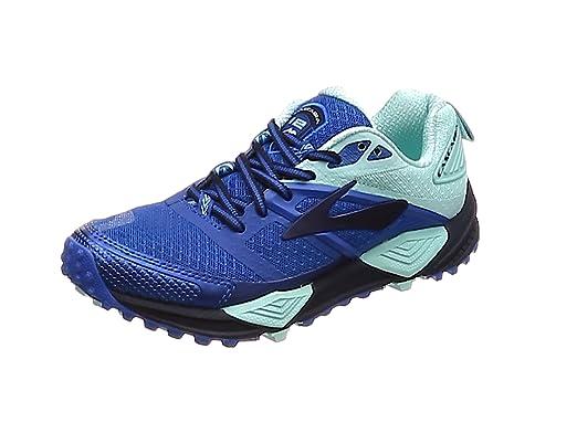 Brooks Cascadia 12 - Zapatillas de running para mujer, color Azul, talla 10 UK: Amazon.es: Zapatos y complementos