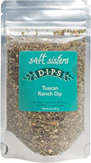 product image for Salt Sisters Gourmet Seasoning Mix, Flavor Tuscan Ranch Dip, 2 Ounces, Single
