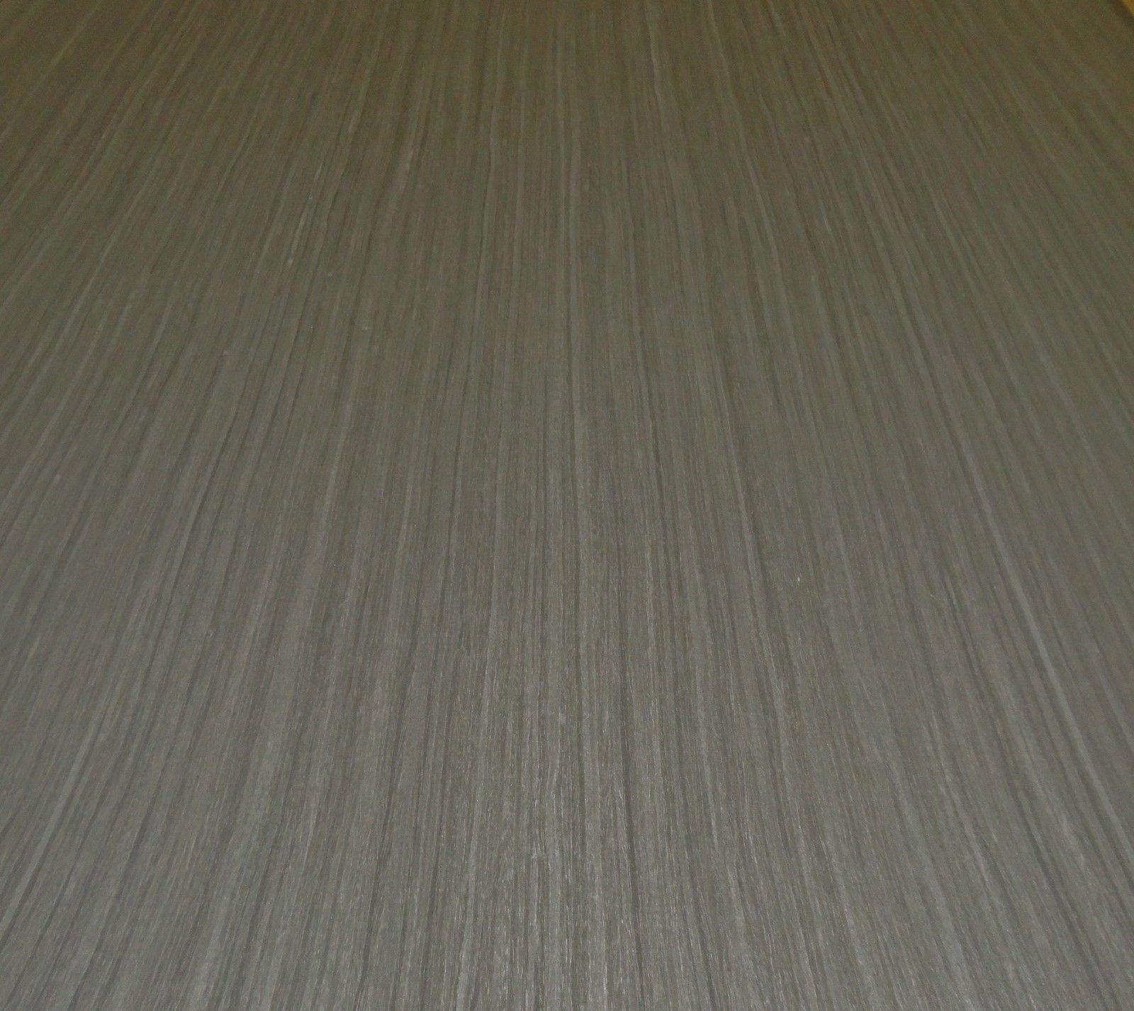 Ebony Gunmetal Gray composite wood veneer 24'' x 96'' with PSA peel stick adhesive