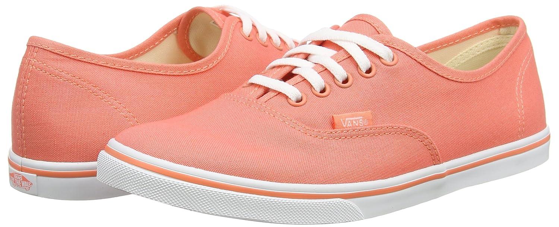 Vans Unisex-Erwachsene Authentic Lo Pro Sneaker Sneaker Pro Orange (Fusion Coral/True Weiß) 25c296