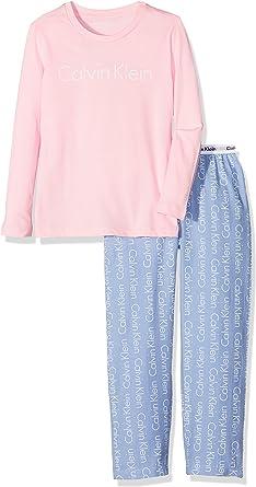 Calvin Klein Underwear Woven PJ Set (2PCS) Pijama, Rosa ...