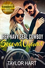 Her Navy Seal Cowboy Second Chance: Sweet Christian Romance (Solid Gold Summerville Ranch Billionaire Romance Book 4) Kindle Edition