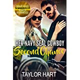Her Navy Seal Cowboy Second Chance: Sweet Christian Romance (Solid Gold Summerville Ranch Romances Book 4)