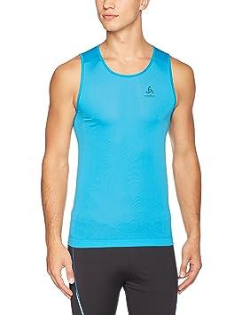 Odlo Camiseta Interior de Deporte Hombre, Hombre, Singlet Crew Neck Evolution X-Light