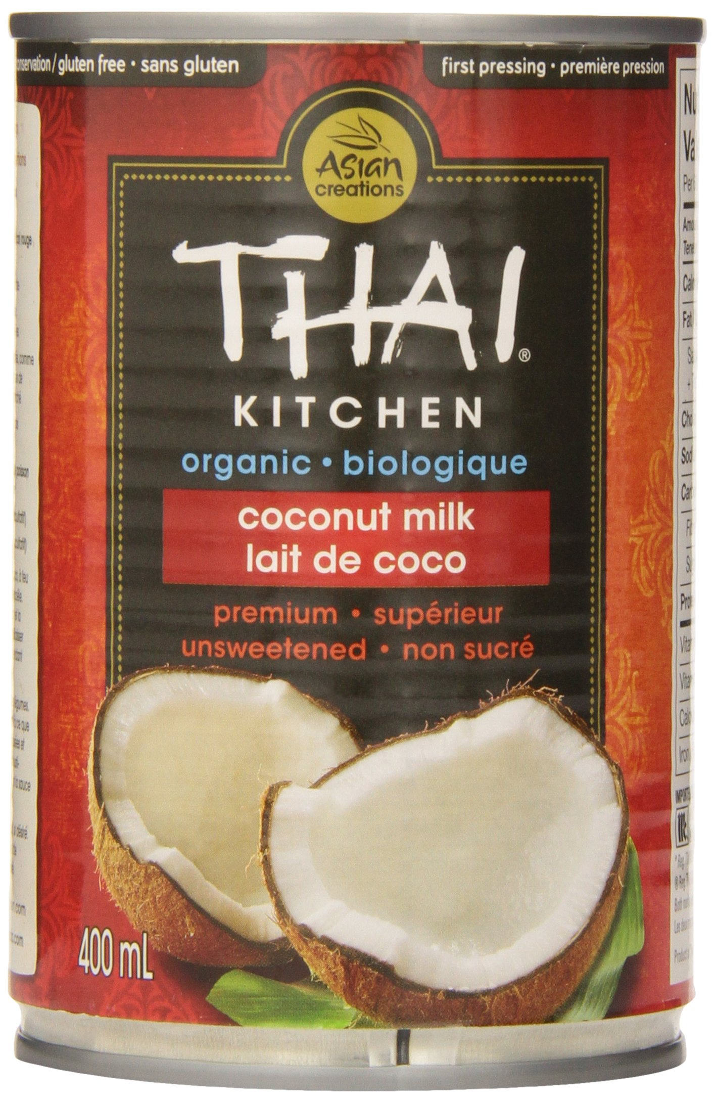 Thai Kitchen Organic Coconut Milk -- 14 fl oz by Thai Kitchen