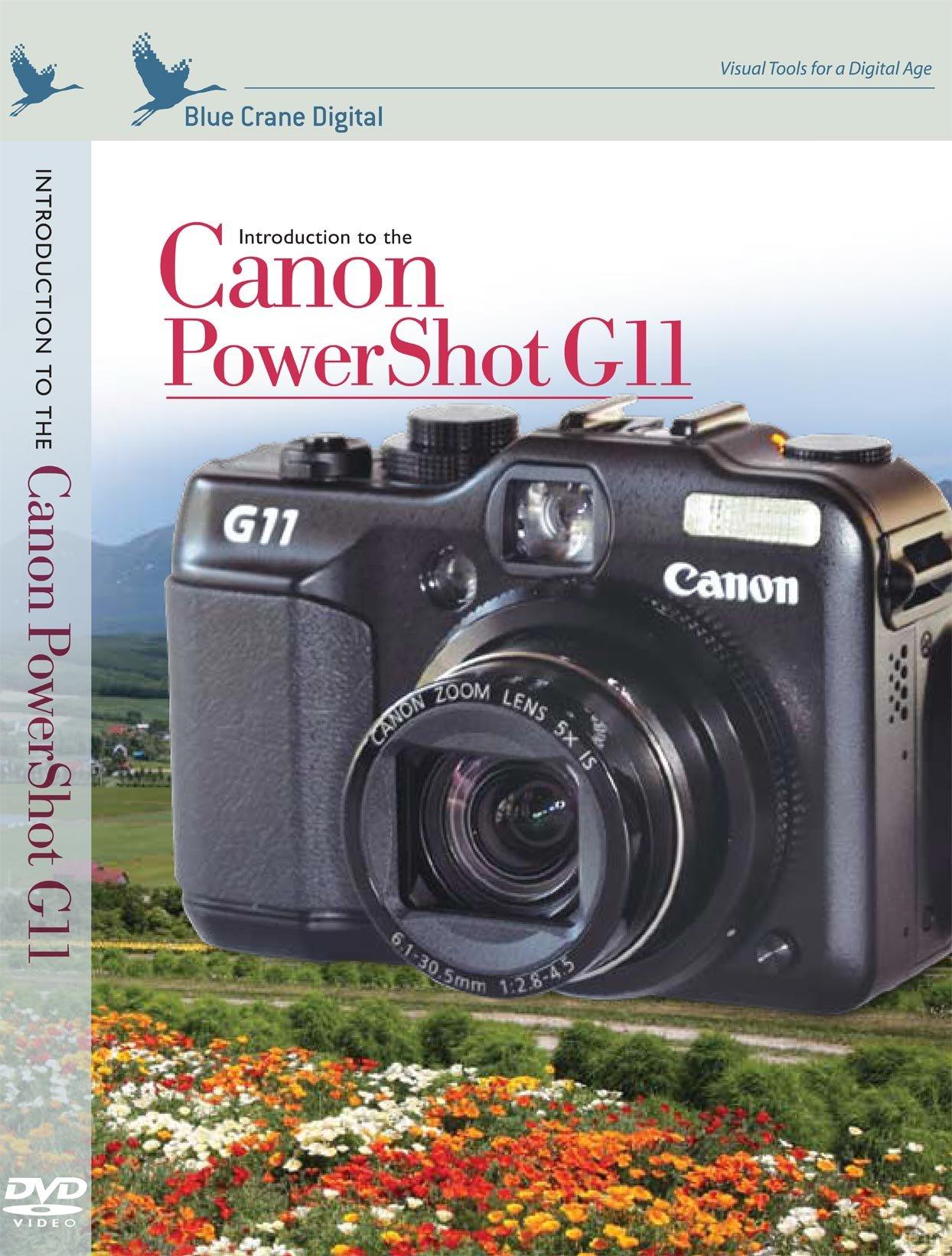Blue Crane Digital Training DVD for Canon PowerShot G11 (zBC132)