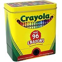 The tin box company 181007-12 Crayola Lata de Almacenamiento de 2 Piezas con sacapuntas, Ceras no Incluidas