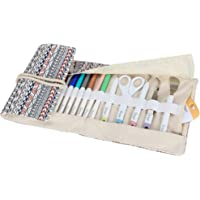 Luxja Bag for Cricut Pen Set and Basic Tool Set, Storage Bag for Cricut Accessories (Bag Only), Bohemian Style, Version…