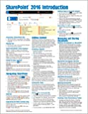 Microsoft SharePoint 2016 Introduction Quick Reference Guide - Windows Version (Cheat Sheet of Instructions & Tips…