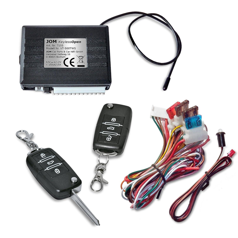 JOM 7105 Keyless Open, Funkfernbedienung fü r vorhandene Original-Zentralverriegelung, universal, mit 2 Klappschlü ssel JOM Car Parts & Car Hifi GmbH