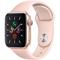 Apple Watch Series 4 (GPS, 40MM) - Gold Aluminum Case with Pink Sand Sport Band...