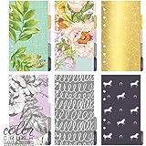 Webster's Pages Color Crush Personal Planner Divider Set Kit, Lavender Stripe