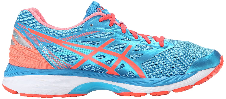 ASICS Women's B017UT0FF8 Gel-Cumulus 18 Running Shoe B017UT0FF8 Women's 6.5 D US|Aquarium/Flash Coral/Blue Jewel 02e8e9