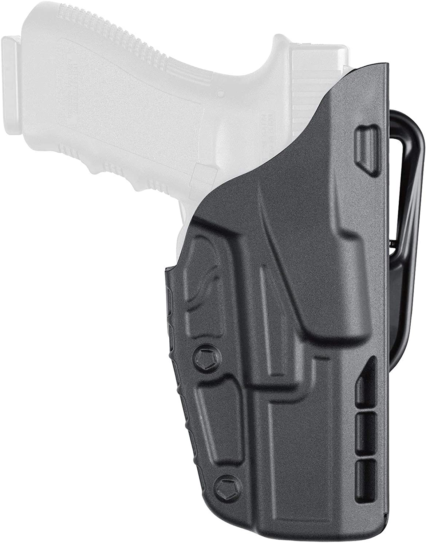 "Safariland 7377 7TS ALS Concealment Belt Slide Holster for Glock 19/23 with 4"" Barrel Right Hand Plain Black Finish"