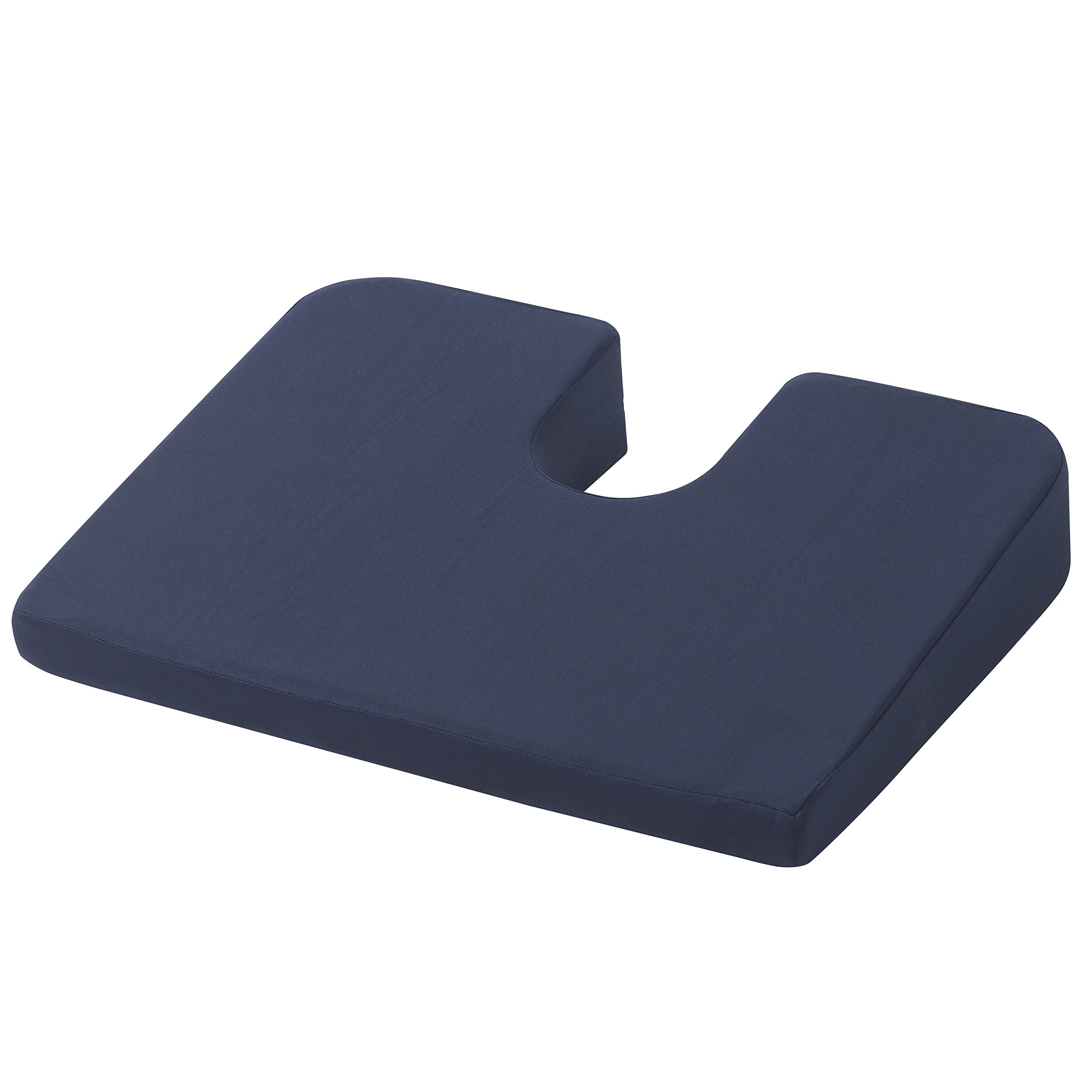Drive Medical RTL1491COM Compressed Coccyx Cushion, Blue