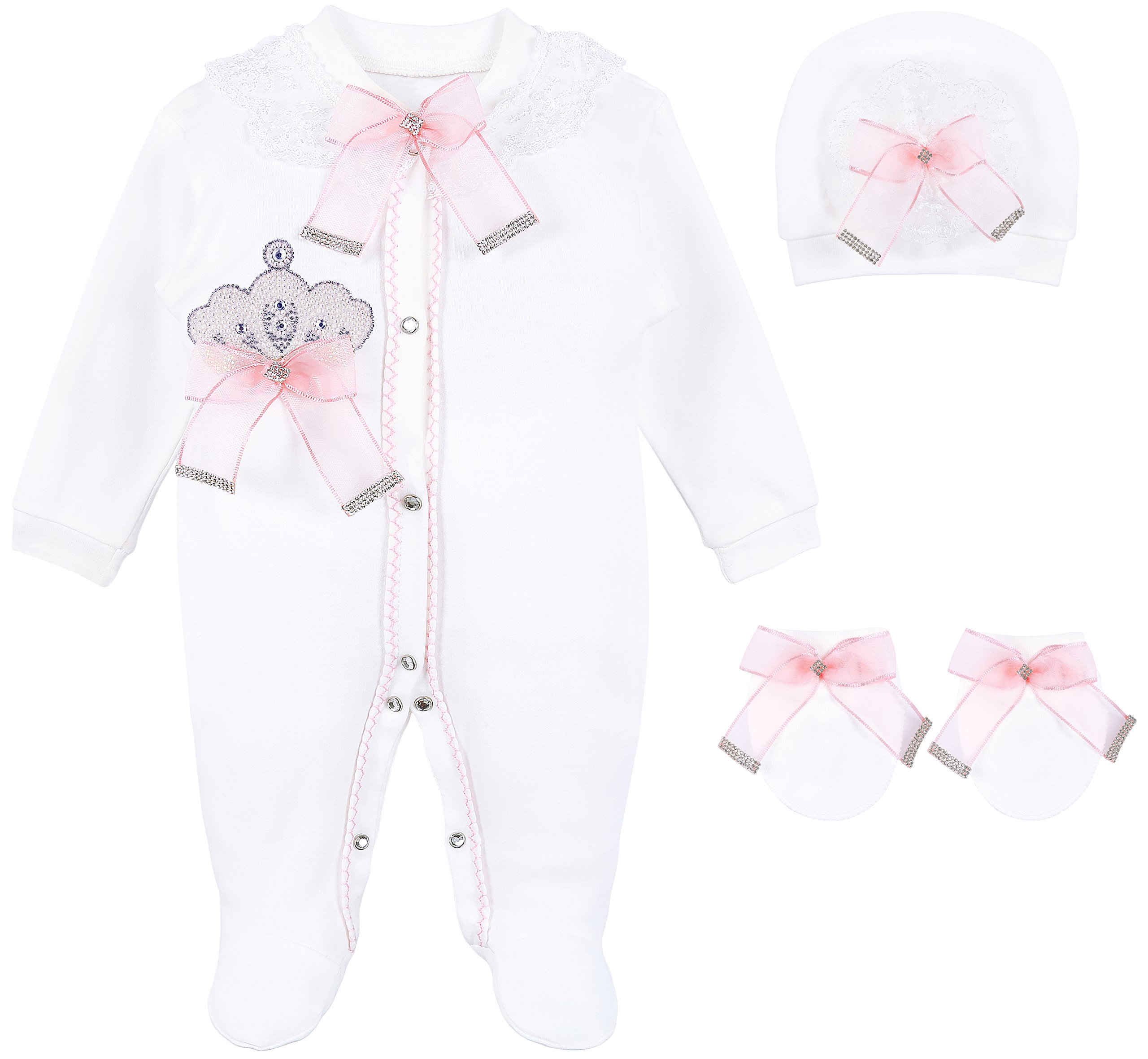 819ca25772a4 Best Rated in Baby Girls' Layette Sets & Helpful Customer Reviews ...