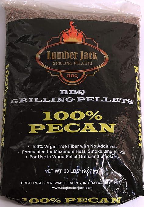 Amazon.com: Lumber Jack: gránulos para barbacoa a la ...
