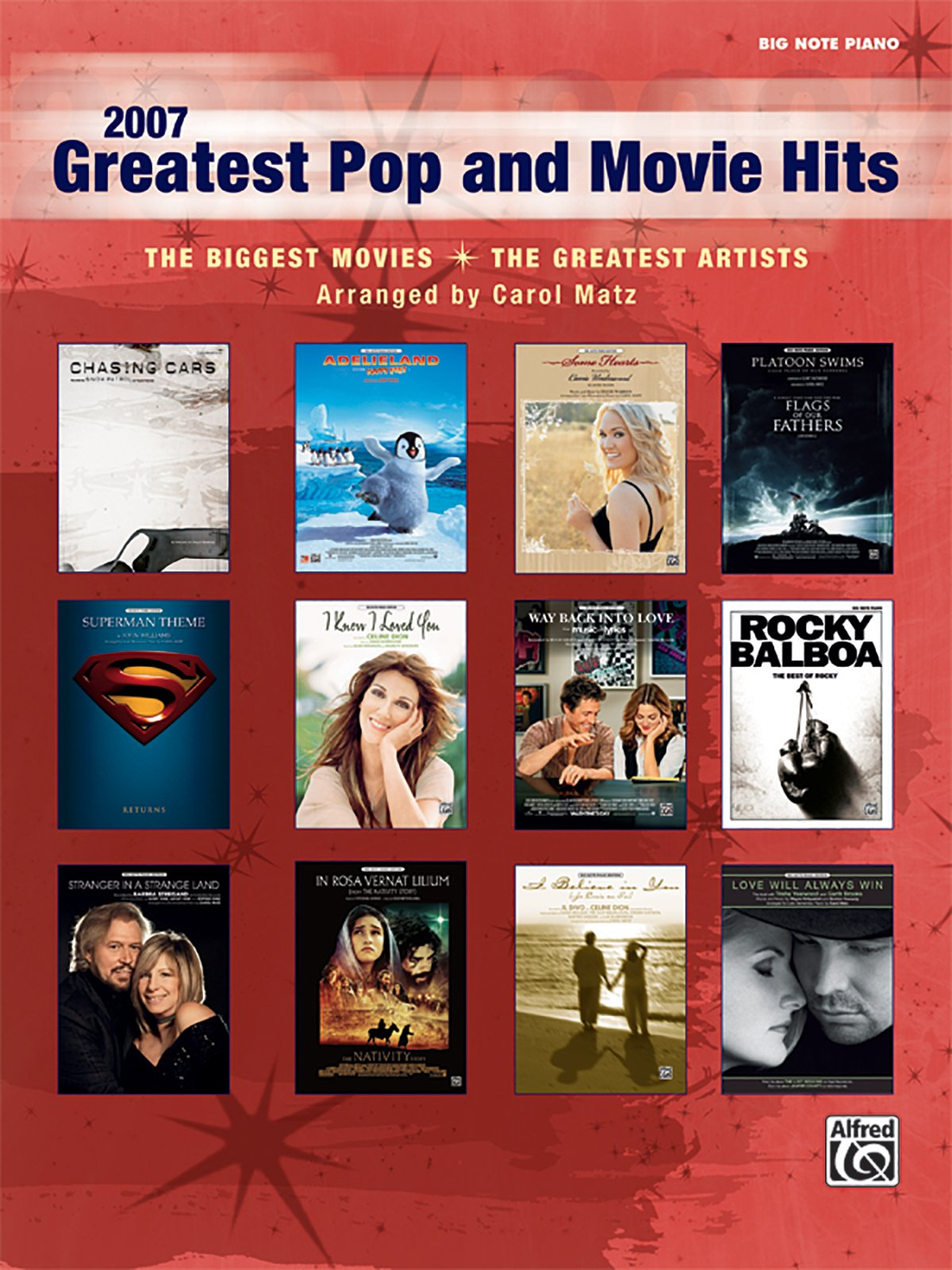 Download 2007 Greatest Pop and Movie Hits: The Biggest Movies * The Greatest Artists (Big Note Piano) ebook