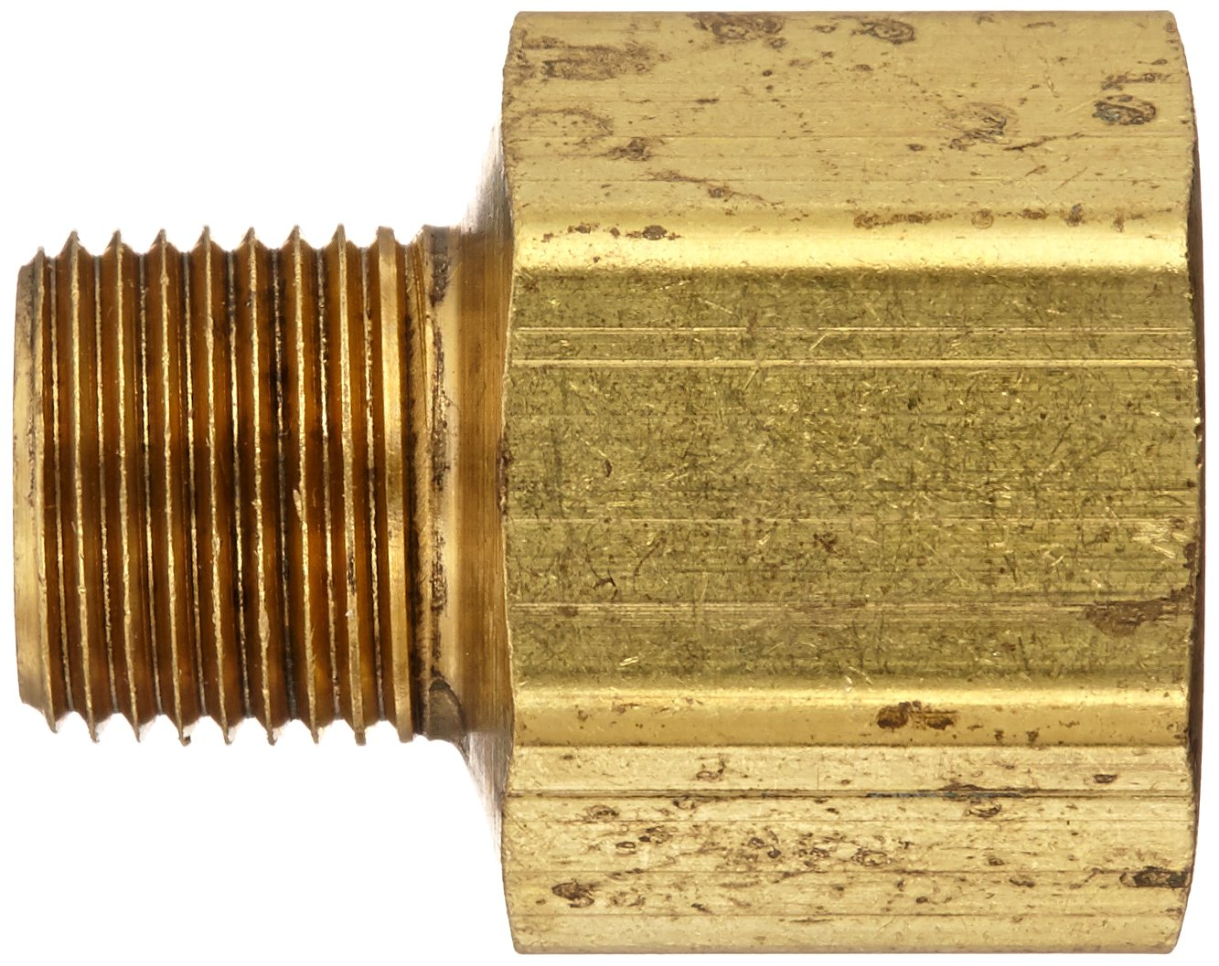 Eaton Weatherhead 3200X8X6 Brass CA360 Fitting 1//2 NPT Female x 3//8 NPT Male Adapter