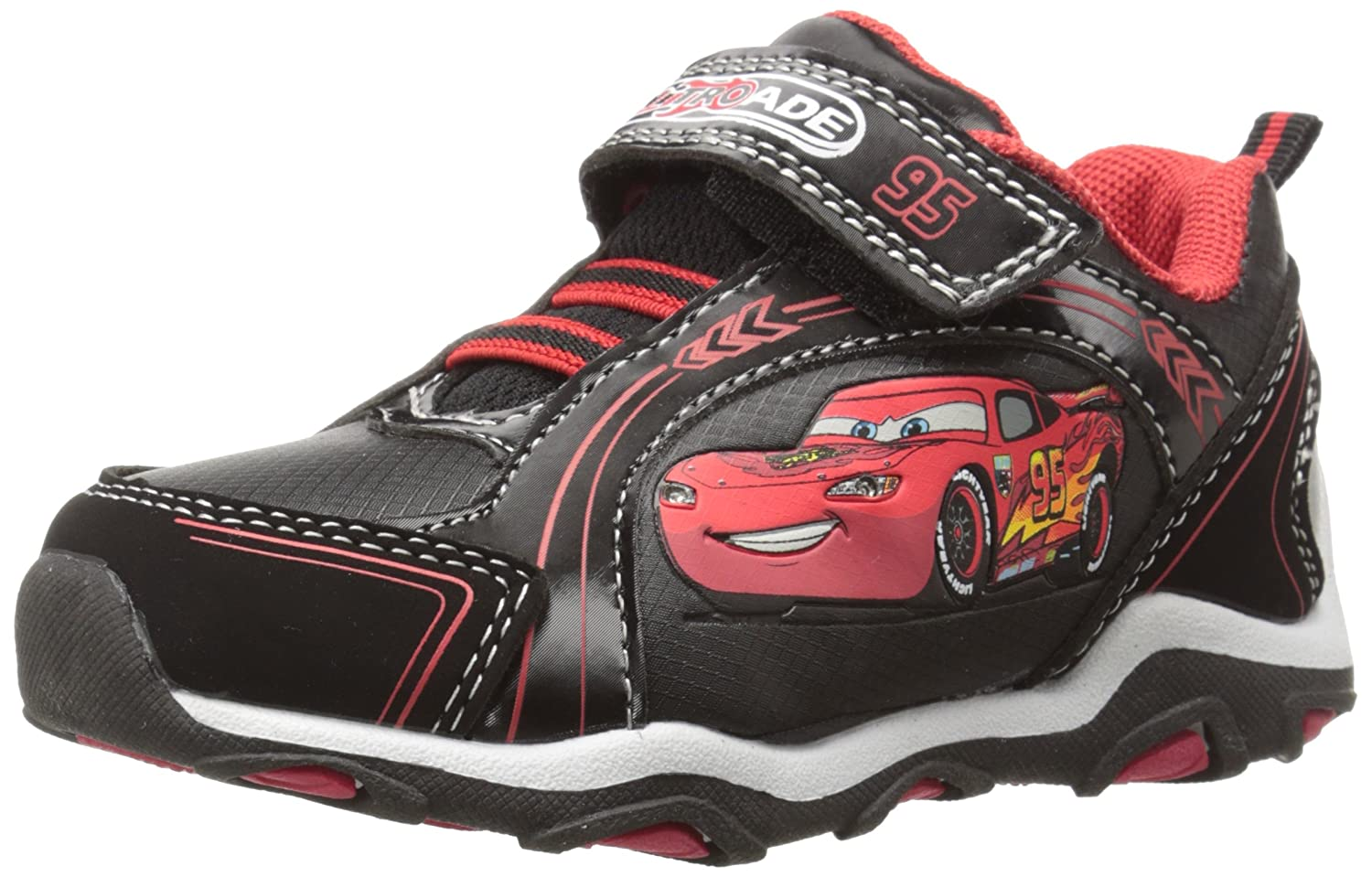 12f9b0bb7c Disney Cars Lightning McQueen Sneaker, Black/Red, 11 M US Little Kid: Buy  Online at Low Prices in India - Amazon.in