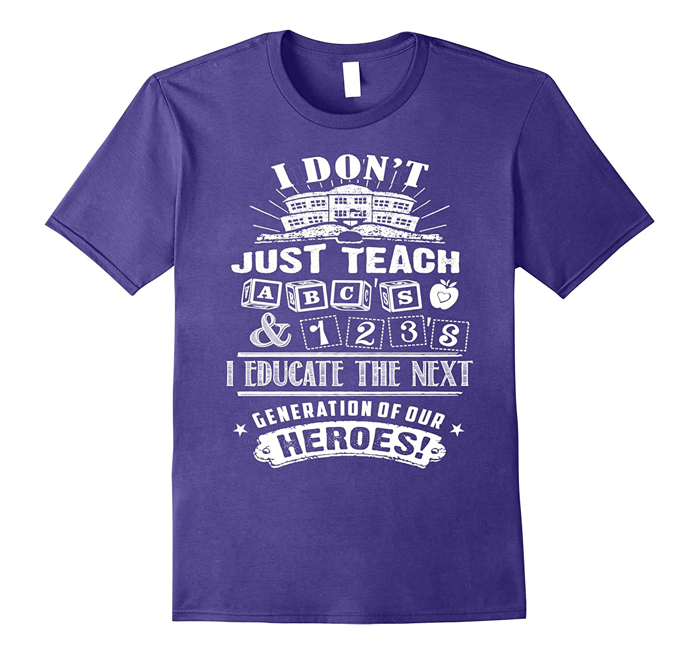 Great Ideas for Teachers Tshirt on Techer Appreciation Week-Vaci