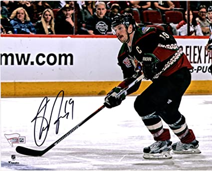 """dce8ec54af8 Image Unavailable. Image not available for. Color: Shane Doan Arizona  Coyotes Autographed 8"""" x 10"""" Alternate Jersey Skating Photograph  - Fanatics"""