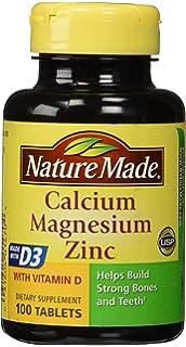 Nature Made Calcium Magnesium & Zinc Tabs, ...