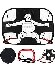 MOLPE Portería de Fútbol para Práctica, Ideal para Hacer Deporte y práctica en Interiores y